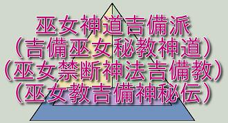 Logo for 岩崎純一学術研究所 巫女神道吉備派(古代吉備=ヤマト王朝史観)